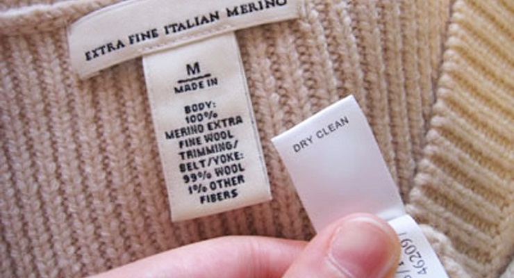 The Truth Behind 'Dry Clean Only' Labels