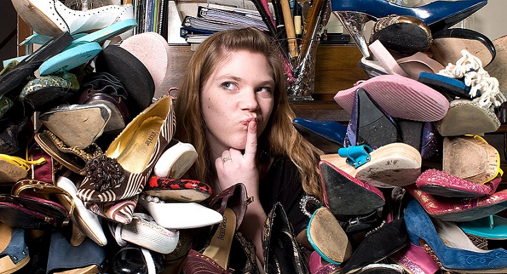 Ladies: Can You Ever Have Too Many Shoes?