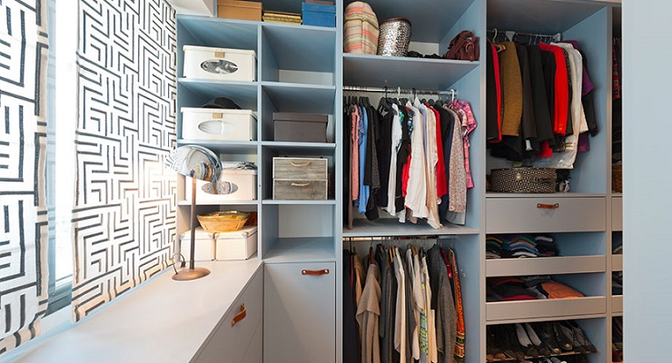 Now that You've Started on that Closet, Go Ahead and Finish Organizing It